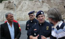 Visita do Comandante Operacional Nacional a Vieira do Minho