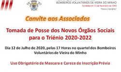 Tomada de Posse Órgãos Sociais - Triénio 2020-2022